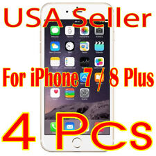 4x New iPhone 7/8 Plus Screen Protector Guard Shield Film (Usa Seller)