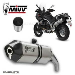 Exhaust MOTO GUZZI STELVIO 2012 2013 Speed Edge MIVV + Kat