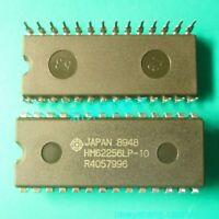2pcs HM62256BLP-7 HM62256BLP HITACHI 8-BIT 256K SRAM DIP28