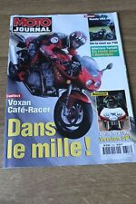 MOTO JOURNAL N°1353 HONDA VRX 400 ★ VOXAN CAFE-RACER ★ APRILIA RSV 1000 SP 1998