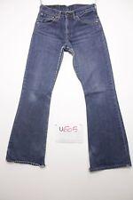 Levis 516 flare bootcut boyfriend jeans d'occassion Cod.U605 Tg.43 W29 L34 homme