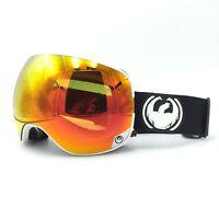Dragon Alliance X2 Inverse Black White Red Ski Snowboard Goggles
