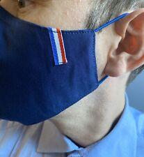 MAS NOIR Tissu réalisé en France Coton triple épaisseur PORTE FILTRE PM