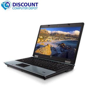"Fast HP ProBook Core i3 Laptop Computer Win 10 14"" PC 4GB 250GB Wifi - Grade B"