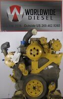 CAT C10 Diesel Engine Take Out, 335HP, Turns 360, Good for Rebuild Only