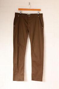 Vintage Lee Skinny Jeans Light Khaki (W36 L31)