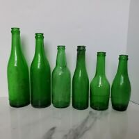 Vintage Green Soda Bottle Lot Geo. Rasmussen Co. Beverages Of Quality Chicago X6