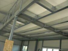 Stahlbaubühne, Zwischendecke aus Stahl, Lagerbühne NEU inkl. Montage 10x10m