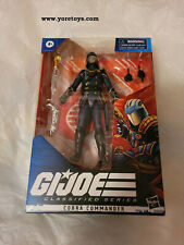 "2020 GI Joe Classified Series G.I.Joe Cobra Commander 06 MIB in Hand 6"" Wave 02"
