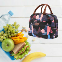 LOKASS Lunch Bag Cooler Bag Women Tote Insulated High Capacity Lunch Box Unisex