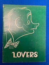 1968 Lovers Art Carney Broadway