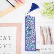 Handwork Art Craft Tassel Crystal DIY Diamond Painting Book Mark Creative Gift