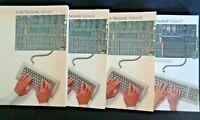 Vintage Apple Computer Inside Macintosh Volume I II III IV Lot 4 Set Books 1985