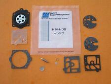 Genuine Walbro Carb Rebuild kit K10-HDB Poulan PRO 3400 3700 3800, McCulloch PRO