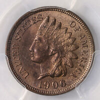 1906 Indian Head 1C PCGS Certified MS64+RB
