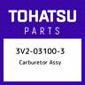 3V2-03100-3 Tohatsu Carburetor assy 3V2031003, New Genuine OEM Part
