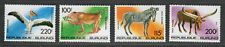 Burundi Sc#c298-c301 M/NH/VF, Complete Set, Animals, Cv. $30