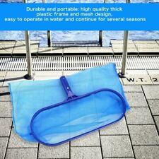 Swimming Pool Accessories Leaf Skimmer Net Deep Net Bag Heavy Duty Cleaner Us