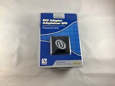 NEW INTERACT RFU ADAPTER PLAYSTATION 2 PS2 PS ONE AUDIO VIDEO CABLE CORD