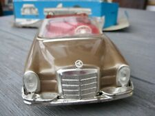 Mercedes 280 SE W111 Cabriolet HUKI Blechspielzeug Tin Toy Modell OVP Original