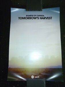 "BOARDS OF CANADA - ""TOMORROW'S HARVEST"" (WARP RECORDS IN STORE PROMO POSTER)"
