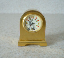 New Listing1997 Bugs Bunny Miniature Clock - Warner Bros.