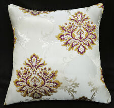 HC107a Scarelet Red Gold threads Jacquard Cushion Cover/Pillow Case*Custom Size