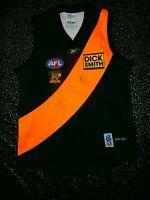 RICHMOND TIGERS 2008 AFL VFL CENTENARY YEAR TEAM REEBOK JERSEY SIGNED AUTO
