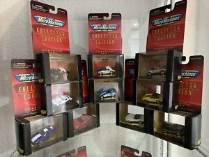 Micro Machines Corvette Collector Edition 19 Cars New Of Galoob Limited Edition