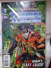 Batman Death Of The Family The New 52 Teen Titans #16 New B&B