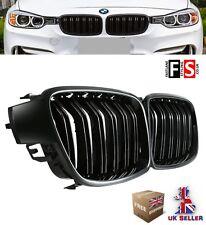 BMW 3 SERIES F30 F31 F35 GLOSS BLACK M PERFORMANCE FRONT KIDNEY GRILLE OEM FIT