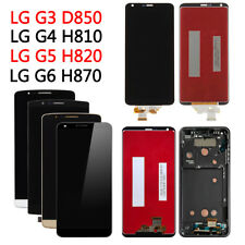 For LG G3 G4 G5 G6 Q6 M700 LCD Touch Screen Display Digitizer With/ No Frame Lot