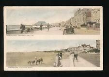 Somerset BURNHAM bi-view Used 1926 PPC pub by John Whitby