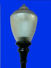 POST TOP FIXTURE POLE OUTDOOR LAMP FITTER ACORN TOP NEW