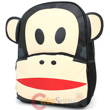 "Paul Frank Julius Big Face Puffy Ears School Backpack 16"" Large Bag"