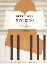 Beethoven: Minuetto dalla Sonata Per Pianoforte Op.49 N.2 (Casella) Ricordi