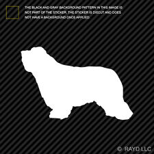 (2x) Bearded Collie Sticker Die Cut Decal Self Adhesive Vinyl dog canine pet