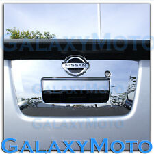 Triple Chrome Tailgate Handle w/Camera Hole Cover for 13-18 Nissan Frontier
