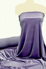 """VELVET 4 WAY STRETCH FABRIC PERIWINKLE PURPLE  58"""" BTY  FORMAL COSTUME PAGEANT"""