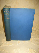 Antique Collectable Book Of Authors Dead & Living, By F. L. Lucas - 1926