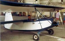 EC-3 Pouplume French Ultralight Croses EC3 Airplane Wood Model Replica Large New