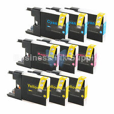 9 COLOR LC71 LC75 Ink Cartridge for Brother MFC-J280W MFC-J425W MFC-J435W LC75