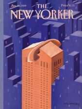 New Yorker COVER 01/30/1989 - Telephone Tower  YOUNG