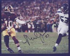 Seahawk Malcolm Smith Super Bowl MVP vs Redskins Autograph C Black Pen