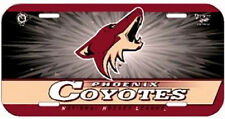 Nhl® Phoenix Coyotes License Plate - Support Your Team