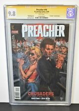 Preacher #19 CGC Grade 9.8 Signature Series Signed by Glenn Fabry DC Comics