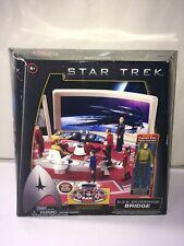 Star Trek USS Enterprise Bridge Playset w/Captain Kirk by Playmates c2009
