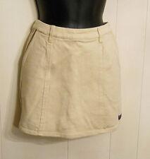 Esprit Kids Beige Skort Shorts with Skirt Panel size 14 Cotton Spandex Stretch