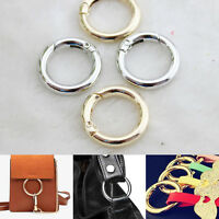 Snap Clip Trigger Spring Gate O Ring Keyring Buckle Bag Accessories Rings