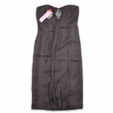 Monsoon Damen Kleid Dress Cocktailkleid Partykleid Gr.36 Liv Grau 92975